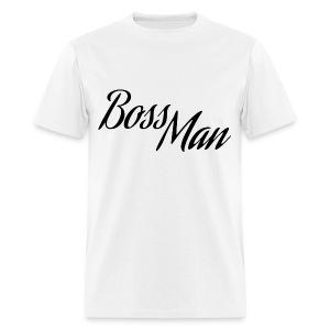 Boss Man Black - Men's T-Shirt
