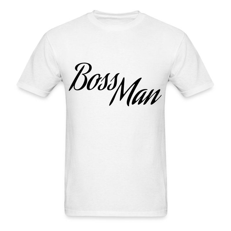 Boss Man Black - Men's T-Shirt