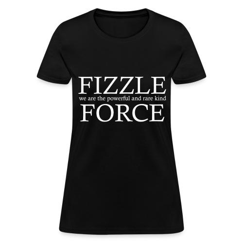 Fizzle Force 4 White - Women's T-Shirt