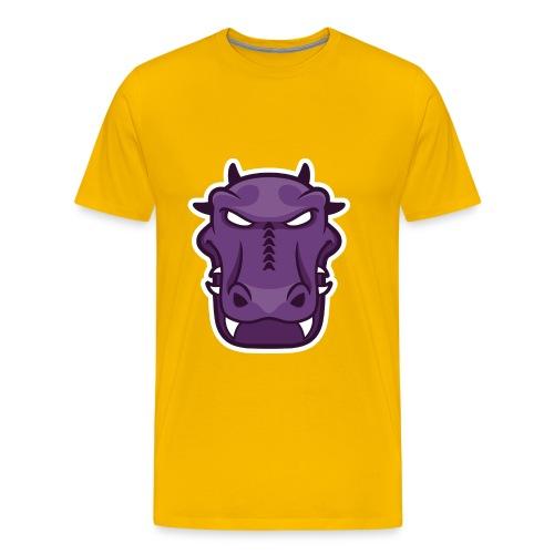 Gator Face Shirt - Men's Premium T-Shirt