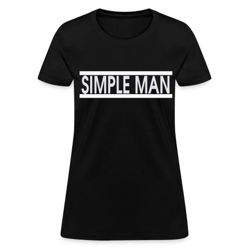 Women's SimpleMan - Women's T-Shirt