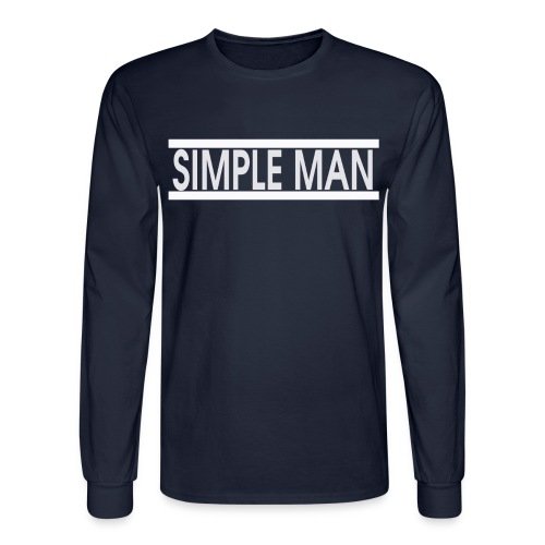 Men's SimpleMan Long Sleeve - Men's Long Sleeve T-Shirt