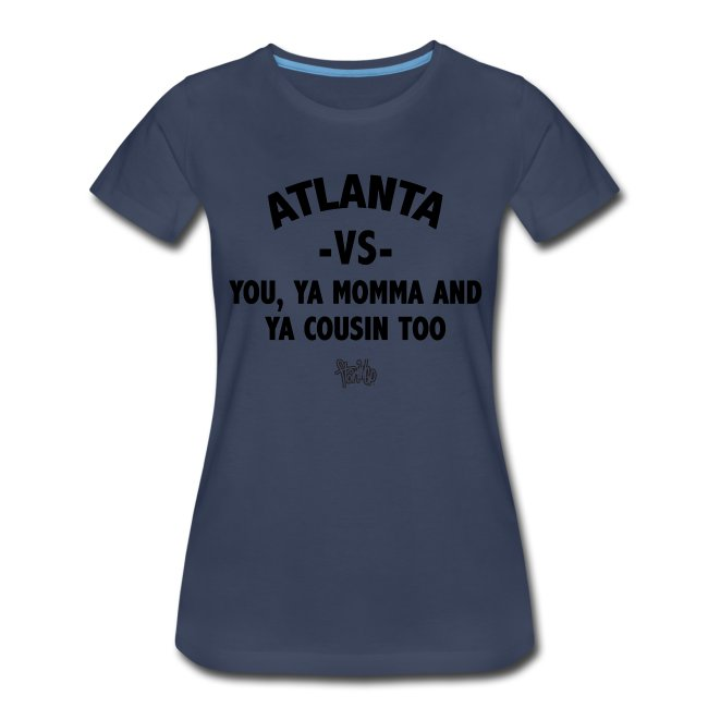 Atlanta VS Tee (Wmns)Blk