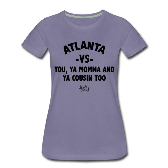 Atlanta VS Tee (Wmns)Blk