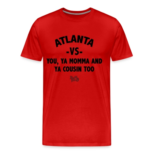 Atlanta VS Tee (Mens) Blk - Men's Premium T-Shirt