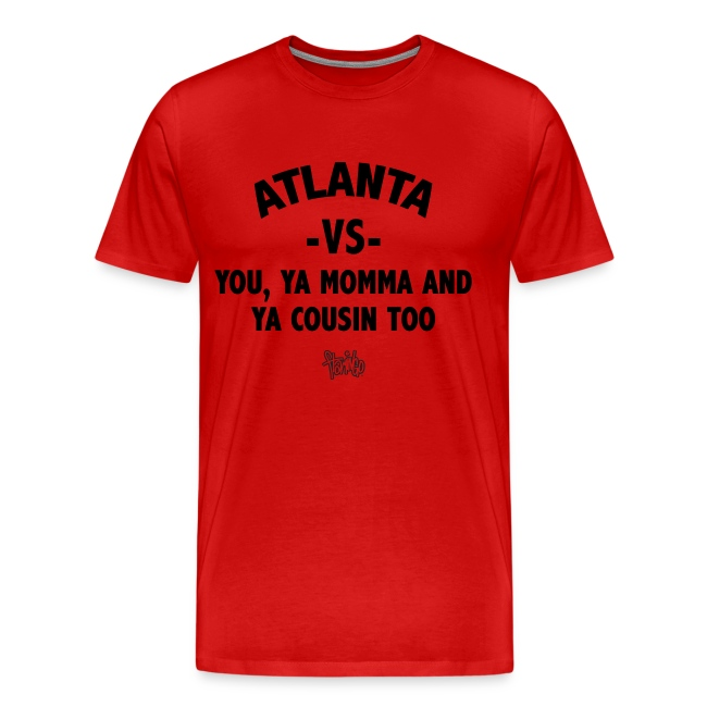 Atlanta VS Tee (Mens) Blk