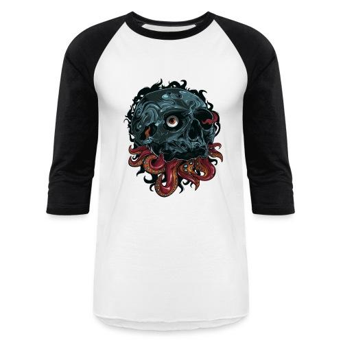 Inked Tees - TentaSkull - Baseball T-Shirt