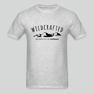 Men's T Shirt: Wildcrafted - Live free, independent, strong, and determined. - Men's T-Shirt