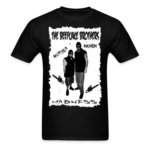 The Beefcake Brothers Unblooded - Men's T-Shirt