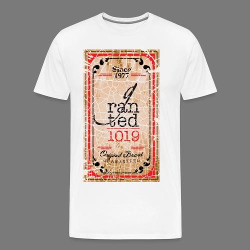 GRANTED SEAL-WHITE CRACK - Men's Premium T-Shirt