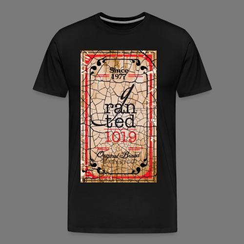 GRANTED SEAL-BLACK CRACK - Men's Premium T-Shirt