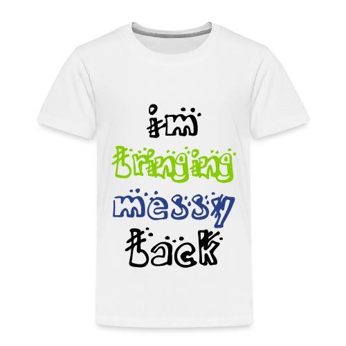 Kids Shirt - Toddler Premium T-Shirt