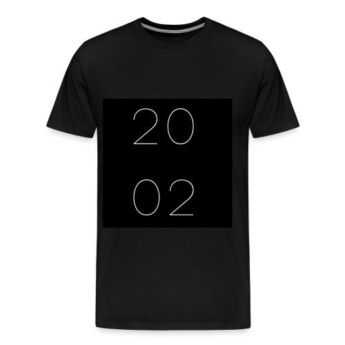 est 2002 - negro - Men's Premium T-Shirt