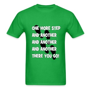STEPS (Men) - Men's T-Shirt