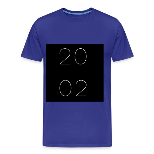 est 2002 - azul - Men's Premium T-Shirt