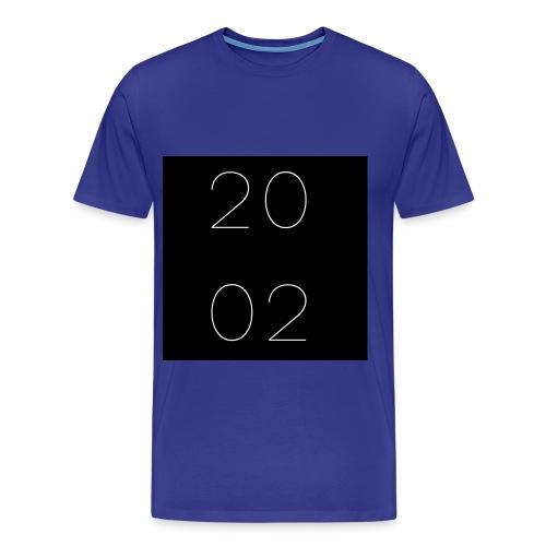 est 2002 - azul - Men's Premium T-Shirt