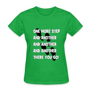 STEPS (Women) - Women's T-Shirt
