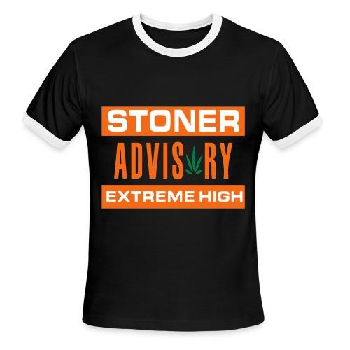Extreme High - Mens Ringer Tee - Men's Ringer T-Shirt