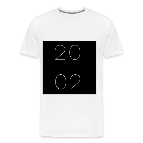est 2002 - blanco - Men's Premium T-Shirt