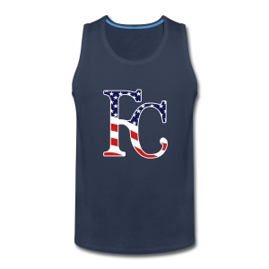 Royal 4th of July - Men's Premium Tank