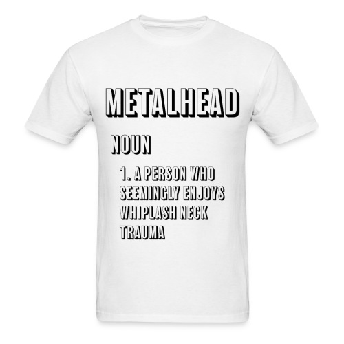 Metalhead Definition - Men's T-Shirt