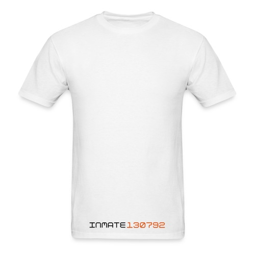 Inmate 130792 White - Men's T-Shirt