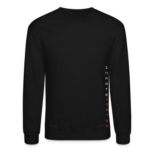 Inmate 130792 Sweater Grey/Black - Crewneck Sweatshirt