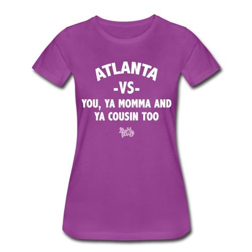 Atlanta VS Tee (Wmns) White - Women's Premium T-Shirt