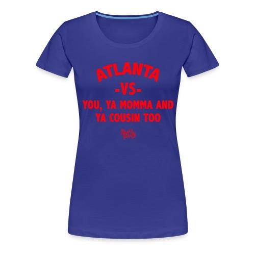 Atlanta VS Tee (Wmns) Red - Women's Premium T-Shirt