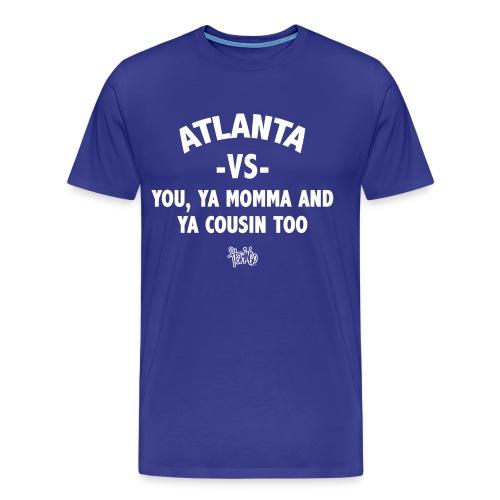 Atlanta VS Tee (Mens) White - Men's Premium T-Shirt