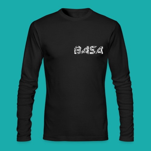 BASA Elephant Print Logo Long Sleeve - Men's Long Sleeve T-Shirt by Next Level