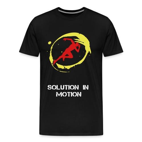 Solution in Motion - Men's Premium T-Shirt