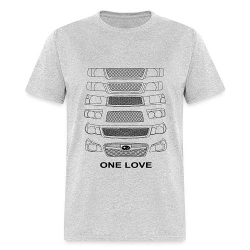 Forester one love white  - Men's T-Shirt