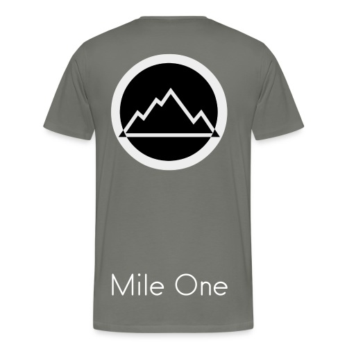 MILE ONE MENS PREMIUM T-SHIRT - Men's Premium T-Shirt