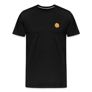 Small Cut Orange Tshirt - Men's Premium T-Shirt