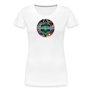 white wemon's Tshirts - Women's Premium T-Shirt
