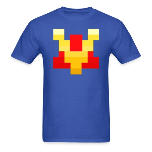 Pixel V - Men's T-Shirt