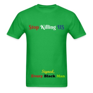 Stop and live - Men's T-Shirt