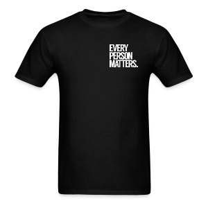 Every Person Matters - Left Chest Logo - Men's T-Shirt