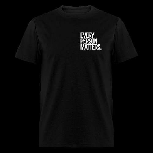 Every Person Matters - Left Chest Logo - Men's T-Shirt