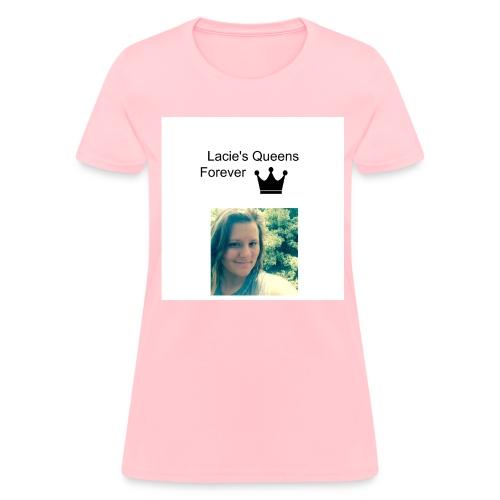 Pink  - Women's T-Shirt