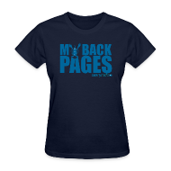T-Shirts ~ Women's T-Shirt ~ My Back Pages t-shirt -- Ladies