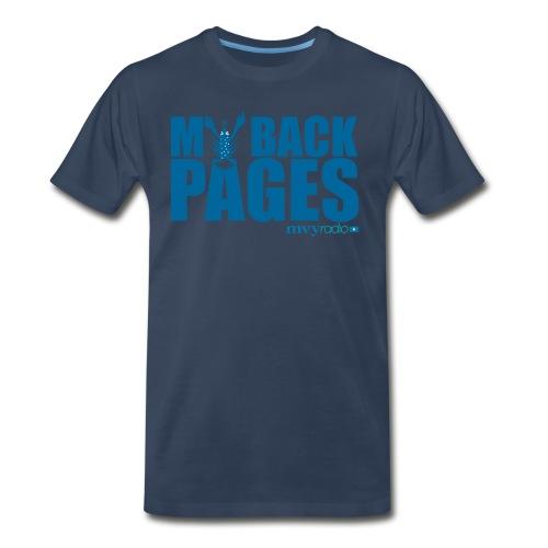 My Back Pages t-shirt -- Mens/Unisex - Men's Premium T-Shirt