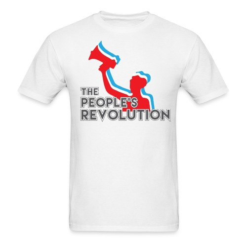 People's Revolution Logo - Men's - Men's T-Shirt
