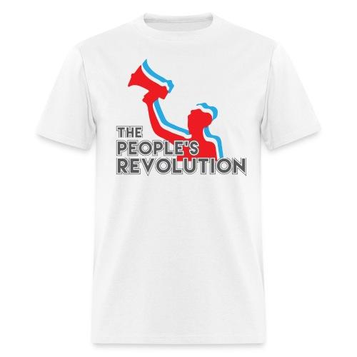 People's Revolution Logo - Men's - Men's T-Shirt