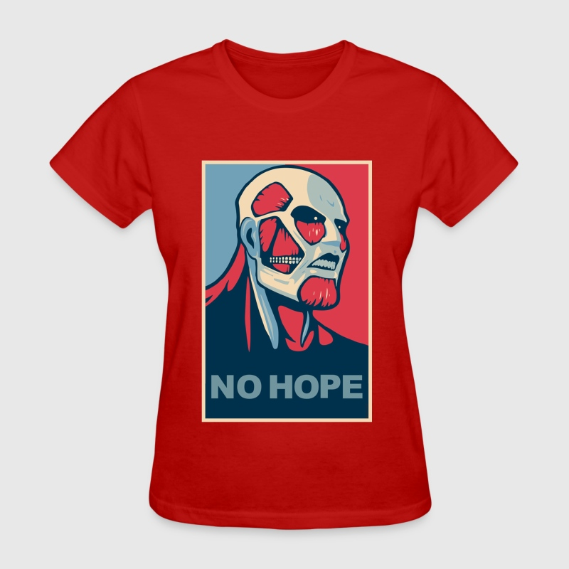 NO HOPE - SHINGEKI NO KYOJIN - Women's T-Shirt