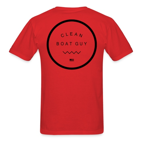 So Clean in Red - Men's T-Shirt