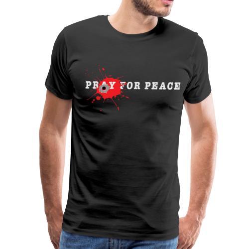Peace Bullet End Gun Violence Tee - Men's Premium T-Shirt