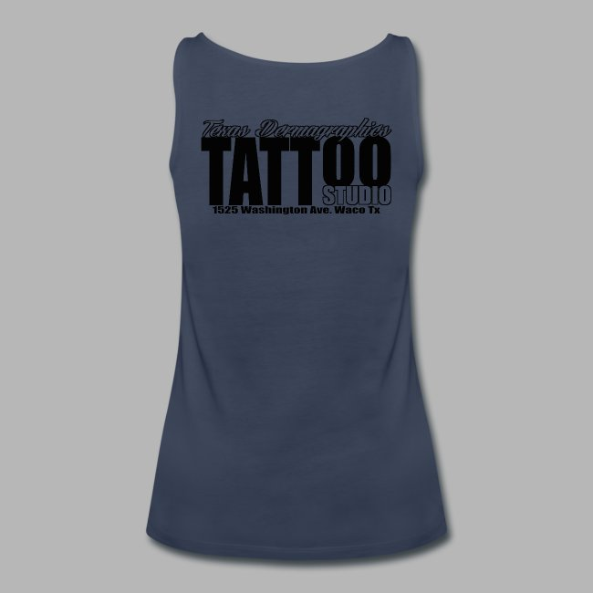 1641b0630 Texas Dermagraphics Tattoo Studio Waco Tx. | womens tank top TDTS ...