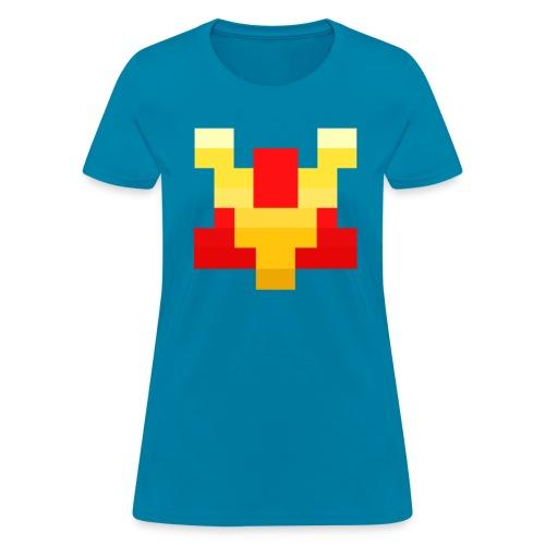 Pixel V - Women's T-Shirt